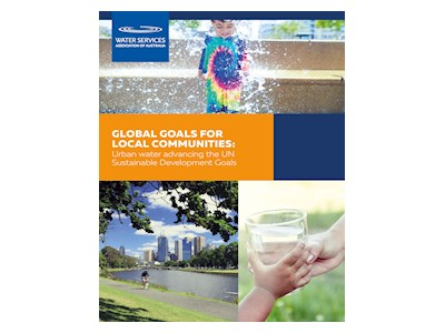 Global Goals for Local Communities:Urban water advancing the UN Sustainable Development Goals