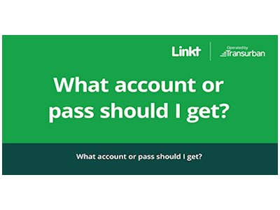 Transurban - 'What account or pass should I get' Video