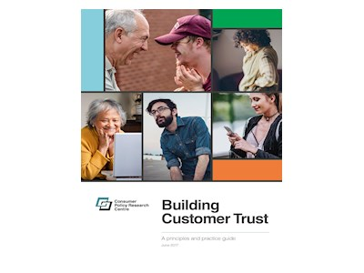 Building Consumer Trust. A Principles and Practice Guide.