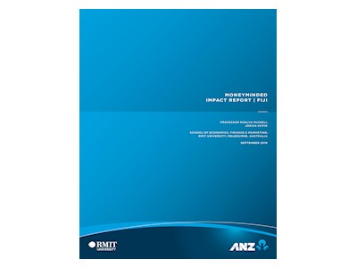 ANZ MoneyMinded Impact Report Fiji 2019