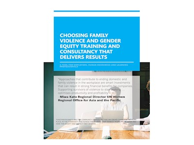 Choosing Family Violence and Gender Equity Training and Consultancy That Delivers Results