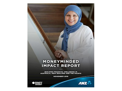 ANZ_MoneyMinded Impact Report. Building Financial Wellbeing in Australia, New Zealand and the Pacific. November 2019