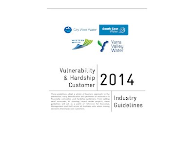 Vulnerability & Hardship Customer 2014. Industry Guidelines