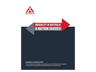 Inequality in Australia. A Nation Divided